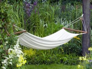 Hamaca para un buen descanso en la naturaleza