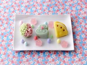 Gustosos y originales pastelitos de azúcar