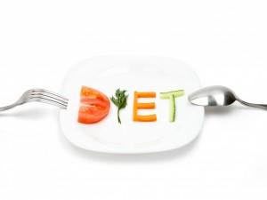 Un plato con verduras para recordar que estoy a dieta