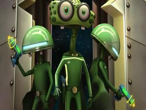 Divertidos extraterrestres