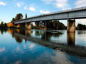 Puente sobre un río
