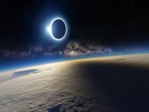 Eclipse sobre la Tierra