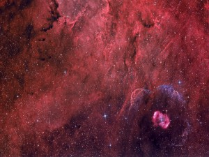 Nebulosa de emisión NGC 6164