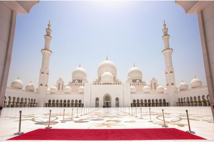 Mezquita Sheikh Zayed (Abu Dabi, Emiratos Árabes Unidos)