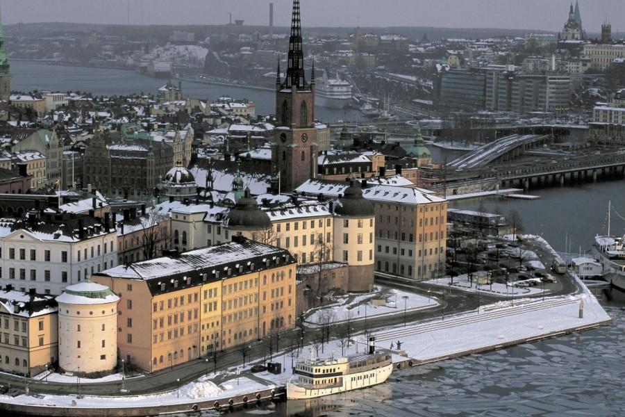 Invierno en Estocolmo (Suecia)