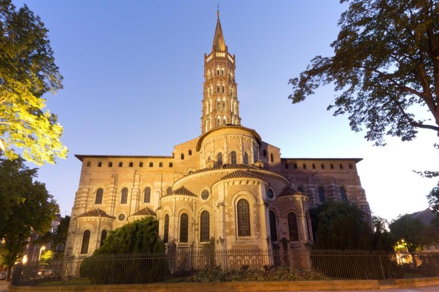 Basílica de San Sernín (Toulouse, Francia)