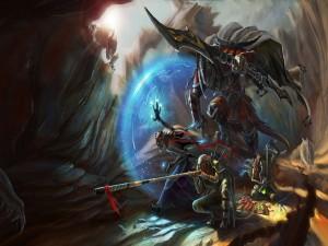 Guerreros elfos
