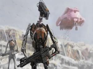 Robots guerreros