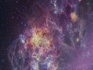 Nebulosa repleta de estrellas