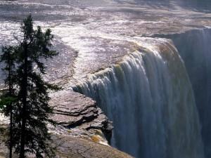 Cascada imponente