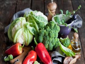 Frescas verduras