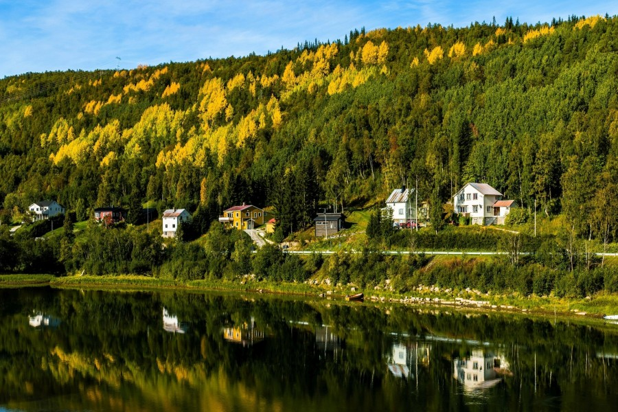 Casas con vistas al lago