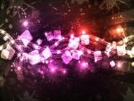 Fondo con luces y colores