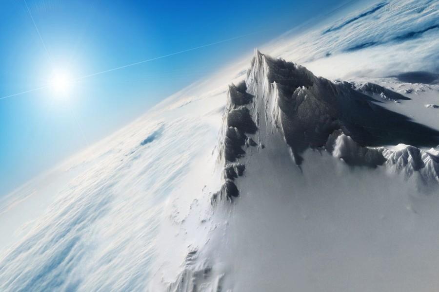 Cima en el cielo