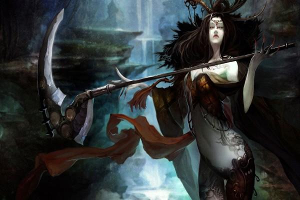 La bruja de la guadaña