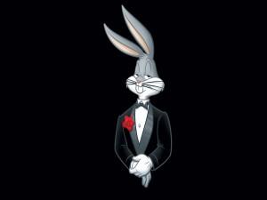Un elegante Bugs Bunny