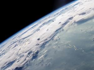 Río de la Tierra visto desde el espacio
