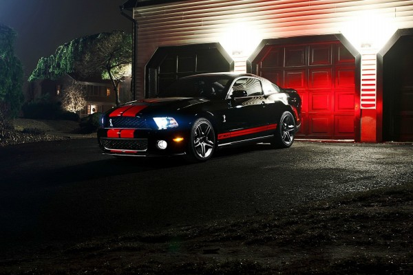 Un bonito Ford Mustang Shelby GT500