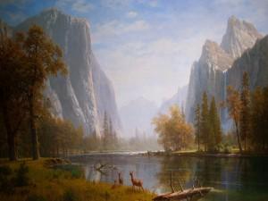 Valle de Yosemite (Albert Bierstadt)