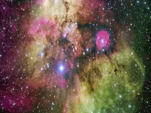 Nebulosa en la región NGC 2467