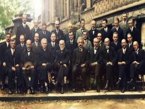 Fotografía del quinto Congreso Solvay (1927)