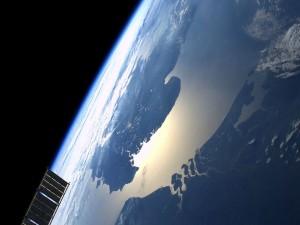 Contemplando la Tierra desde el espacio