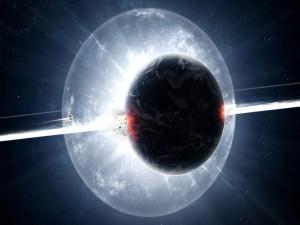 Explosión de un planeta