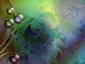 Figuras abstractas componiendo una imagen