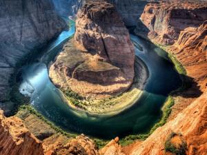 Curva de la Herradura (Río Colorado)