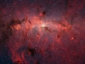 Estrellas en el centro galáctico (Vía Láctea)