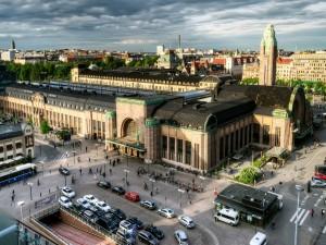 Estación Central de Helsinki (Finlandia)
