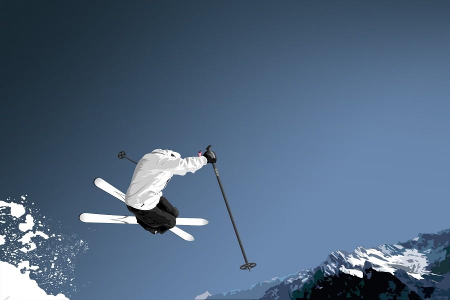Salto con esquís