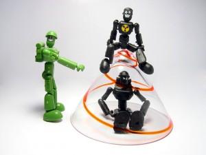 Robots jugando