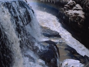 Agua del deshielo