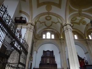 Interior de la Catedral de Baeza (Jaén)