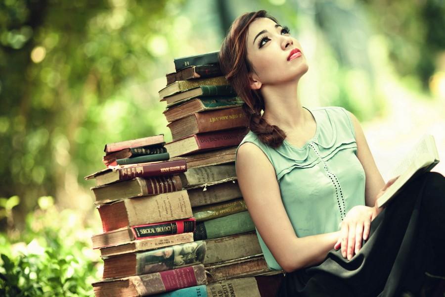 Chica amante de los libros