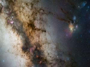 Zona de una galaxia