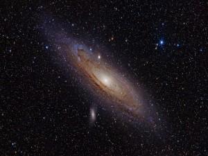 La galaxia de Andrómeda