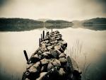 La tranquilidad de un lago