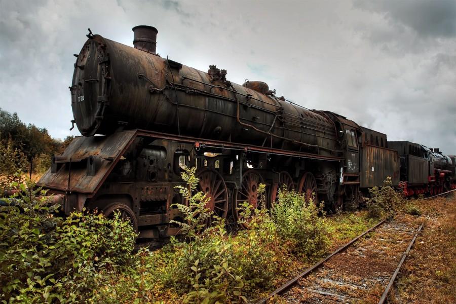 Antigua locomotora