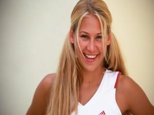 La bella Anna Kournikova