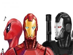 Iron Man llorando