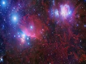 Nebulosa y estrellas