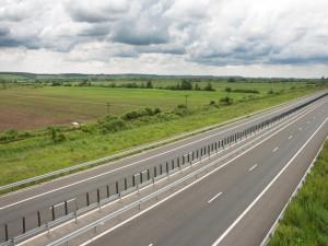 Nubes sobre la carretera