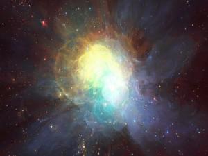 Una brillante nebulosa