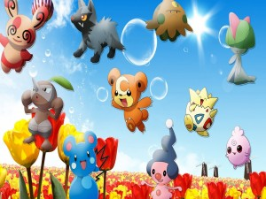 Lindos personajes del anime Pokémon