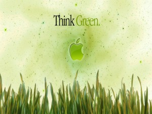 Apple (Piensa en verde)