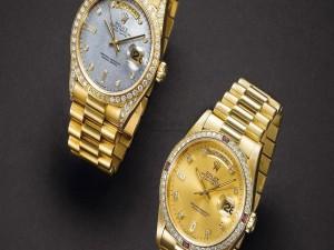 Dos relucientes Rolex