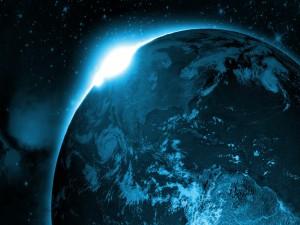 América vista desde el espacio