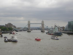 Barcos en el Támesis